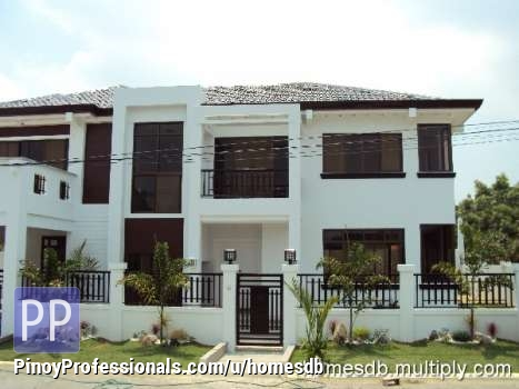 2 storey modern house and lot for sale in bf homes paranaque for Modern architecture homes for sale