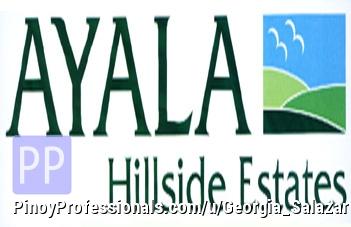 Land for Sale - AYALA HILLSIDE LOT FOR SALE