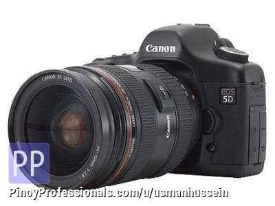 Cameras and Photo - Canon Eos 5D Mark II Digital SLR Camera.........$400