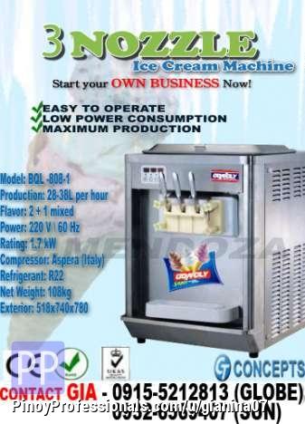 All In One Ice Cream Machine Frozen