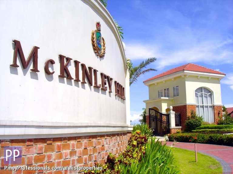 Land for Sale - MCKINLEY HILL VILLAGE TAGUIG VACANT LOTS FOR SALE