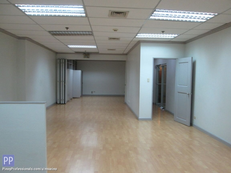 Office and Commercial Real Estate - 118sqm Ground Floor Office Space Legaspi Village Makati City FOR LEASE