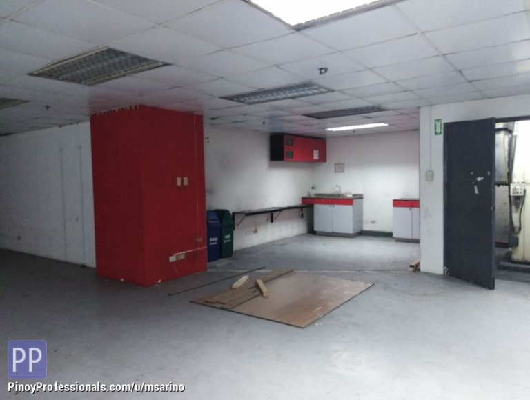 Office and Commercial Real Estate - 230sqm PEZA Ayala Avenue Office Makati City FOR LEASE
