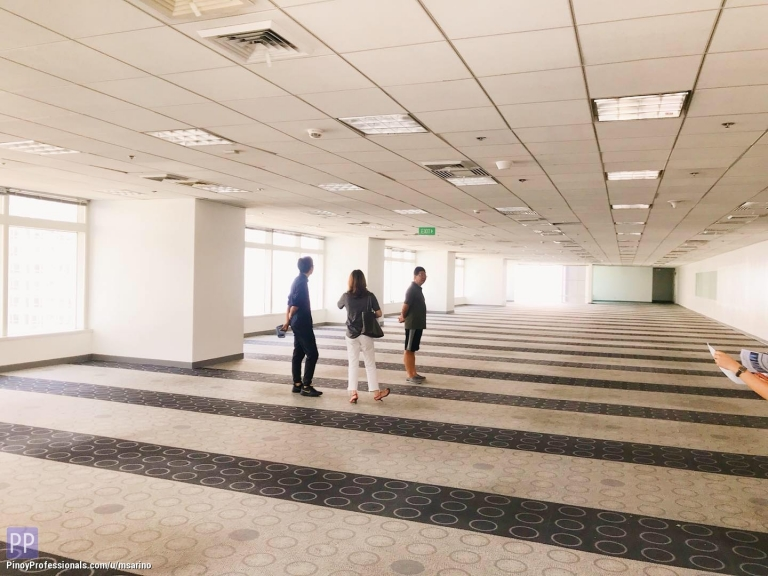 Office and Commercial Real Estate - Office along Ayala Avenue, Makati 1,718sqm PEZA FOR LEASE