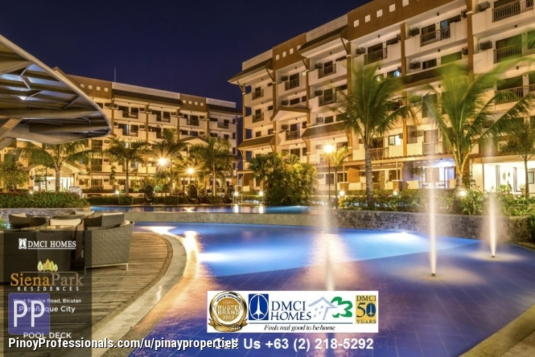 Apartment and Condo for Sale - Condominiums in Paranaque, near SM Bicutan, SIENA PARK RESIDENCES by DMCI Homes, Now Ready for Occupancy