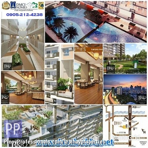Apartment and Condo for Sale - PROFITABLE INVESTMENT DMCI CONDO ACROSS ROCKWELL MAKATI NO BIG CASH OUT!!!