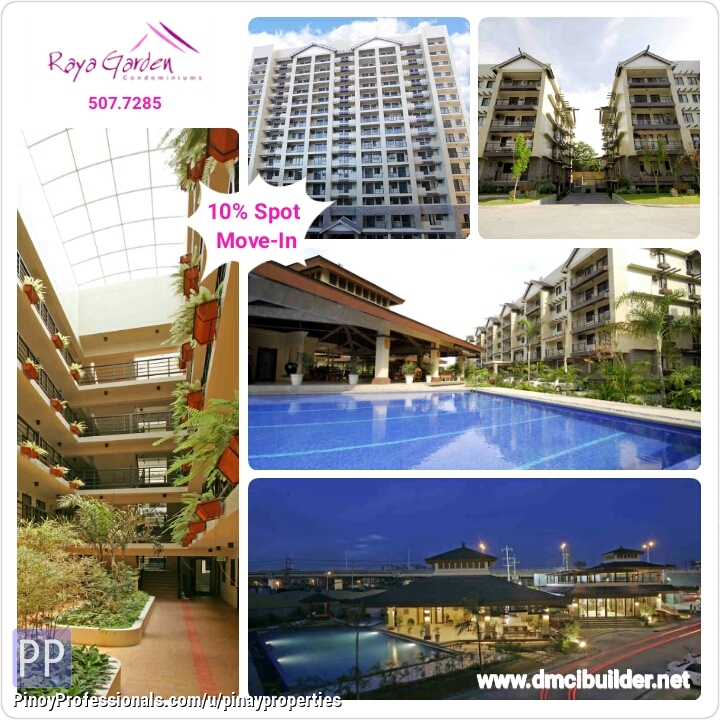 Apartment and Condo for Sale - FOR SALE 4 BEDROOMS 121SQM DMCI CONDO IN PARANAQUE near Airport Call 507.7285