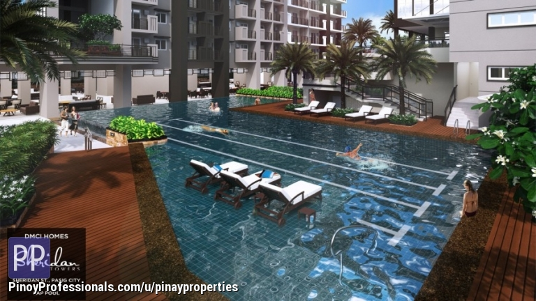 Apartment and Condo for Sale - 79sqm 3 BEDROOM DMCI CONDO IN MANDALUYONG 23K A MONTH ONLY NEAR EDSA PIONEER Call 218-5292