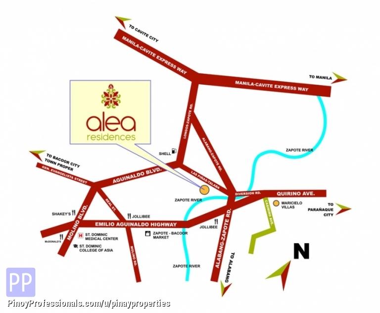 Apartment and Condo for Sale - For Sale 4 Bedrooms DMCI Condo in Las Pinas Area near City of Dreams, MOA