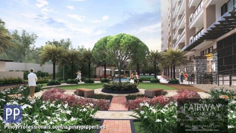 Apartment and Condo for Sale - FOR SALE 1 Bedroom 54sqm DMCI Condo in Villamor Airbase Pasay near Resorts World Call 5077285