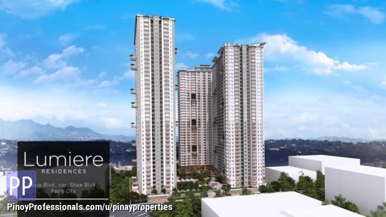 Apartment and Condo for Sale - 1 Bedroom 27sqm DMCI Condo in Shaw Pasig Blvd near Ortigas, BGC,Makati Call 5077285