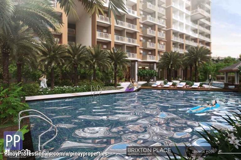 Apartment and Condo for Sale - Condo for Sale in Kapitolyo 1 BR 30sqm Brixton Place by DMCI Homes near Ortigas, BGC,CBD Call Us 507.7285