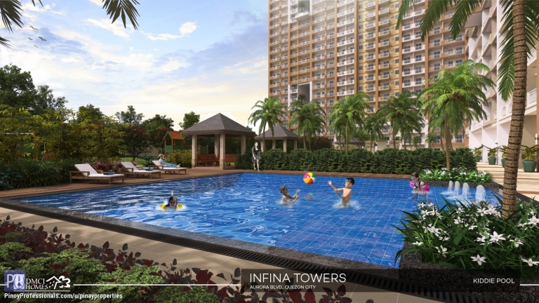 Apartment and Condo for Sale - Condo for Sale in Quezon City 3 Bedroom 81sqm DMCI Condo along Aurora Boulevard