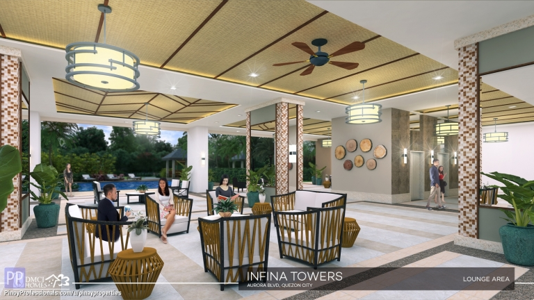 Apartment and Condo for Sale - Best Deal DMCI Condo in Quezon City 2 Bedroom 53sqm Condo near Eastwood City