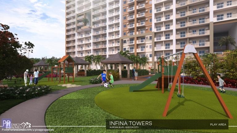 Apartment and Condo for Sale - Prime Location DMCI Condo in Quezon City 1 Bedroom 27sqm Condo near Araneta Center