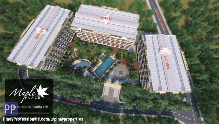 Apartment and Condo for Sale - Premier DMCI Condo in Taguig 2 Bedroom 63sqm Condo inside Acacia Estates Call 0905.21.4238
