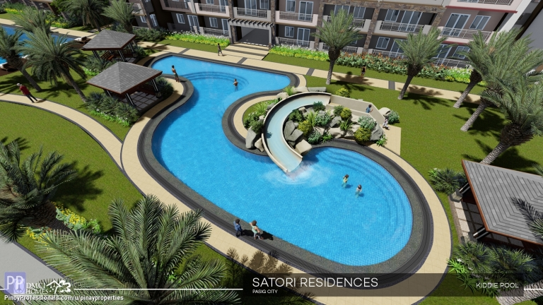 Apartment and Condo for Sale - Condo for Sale near Miriam College|DMCI Condo in Santolan Pasig|1 Bedroom 27sqm