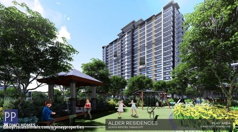 Apartment and Condo for Sale - Spacious 3 Bedrooms 107sqm DMCI Condo in Taguig near Mckinley Hill, BGC, Makati CBD,NAIA