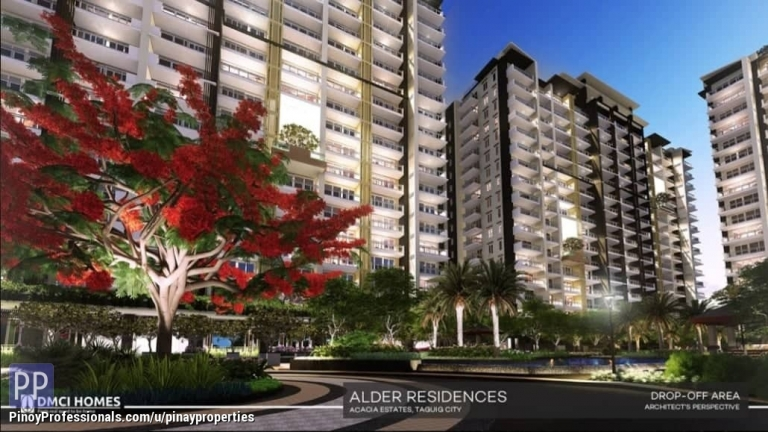Apartment and Condo for Sale - 3 Bedrooms 98sqm DMCI Condo in Taguig Few Mins to Mckinley Hill, BGC, Makati CBD, NAIA