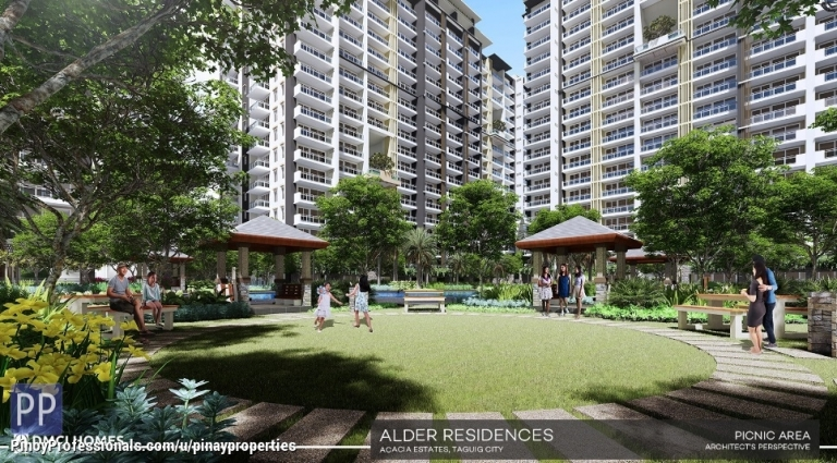 Apartment and Condo for Sale - DMCI Condo in Acacia Estates Taguig 71sqm 2 Bedrooms Few Mins to Mckinley Hill, BGC, Makati CBD