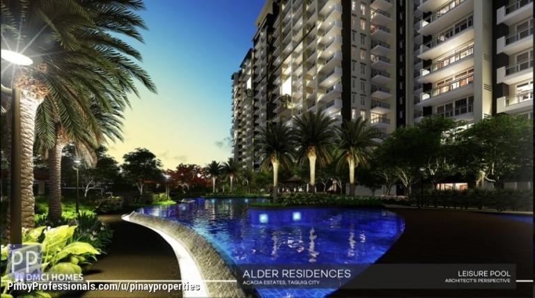Apartment and Condo for Sale - DMCI Condo in Acacia Estates Taguig sqm 3 Bedrooms 107sqm Few Mins to Mckinley Hill, BGC, Makati CBD