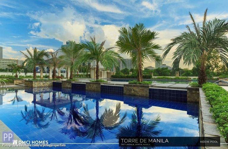 Apartment and Condo for Sale - Spacious Condo in Manila|DMCI Condo for Sale near Robinsons Place Manila