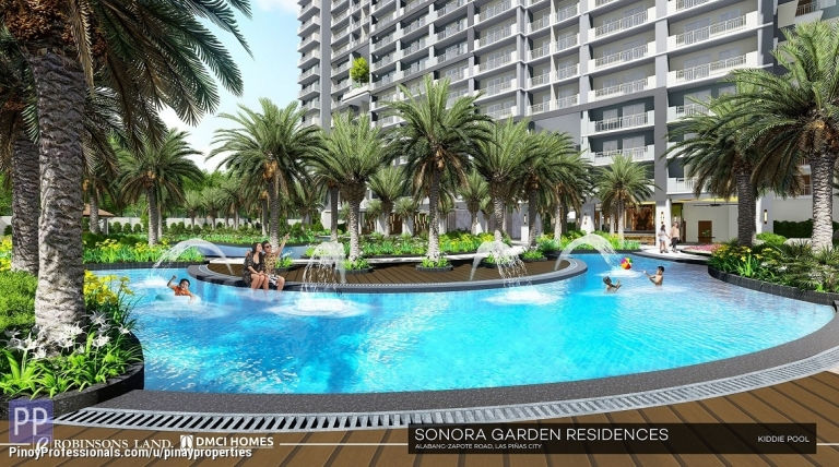 Apartment and Condo for Sale - 56sqm 2 Bedrooms Condo for Sale in Las Pinas Just Beside Robinson's Place Call/Viber 0905.212.4238