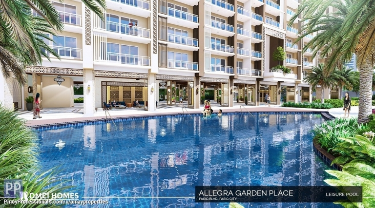 Apartment and Condo for Sale - Best Deal 1 Bedroom 36sqm Condo for Sale in Pasig Boulevard Limited-time Offer! Call 0905.212.4238