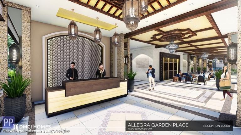 Apartment and Condo for Sale - Studio Type Condo near BGC 30sqm Condo for Sale in Pasig Boulevard Call 0905.212.4238