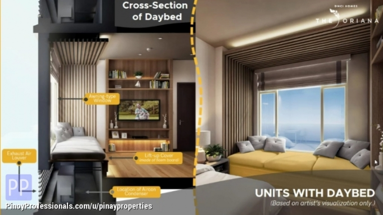 Apartment and Condo for Sale - 60sqm 2 Bedroom Condo just a Stone Away to Anonas LRT2 Station & Upcoming Metro Subway