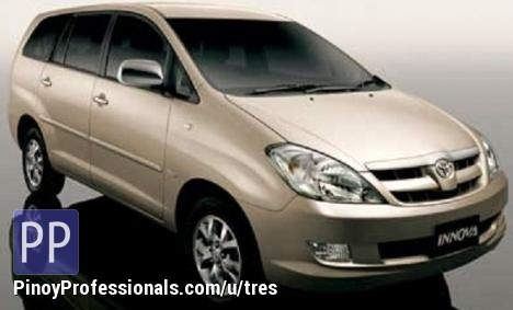 Cars for Sale - FOR RENT/FOR HIRE BRANDNEW INNOVA 09208939537 & 09423964542