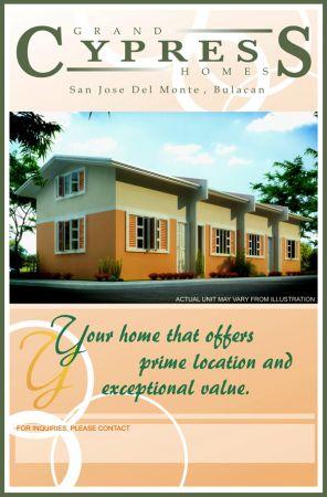 Grand Cypress Homes Tungko San Jose Del Monte Bulacan As