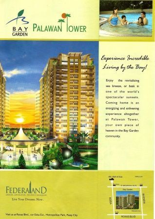 Apartment and Condo for Sale - Palawan Tower Bay Gardens