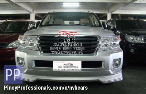 Cars for Sale - 2013 Toyota Land Cruiser GXR Facelifted