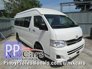 Cars for Sale - 2013 Toyota HiAce