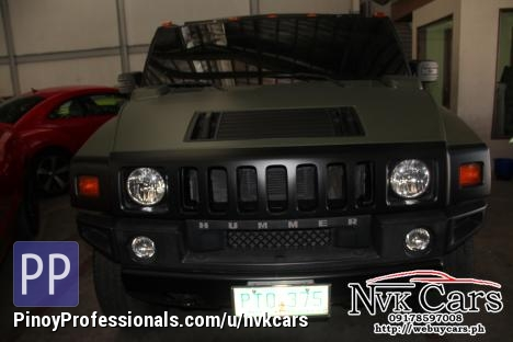 2010 Hummer H2 Sut Bulletproof Cars For Sale Pickup In Pasig