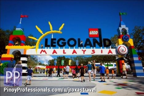 Vacation Packages - JOHOR BAHRU W/LEGOLAND MALAYSIA = P8880 per pax (2d/1n)