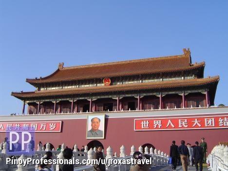 Vacation Packages - BEIJING & SHANGHAI VIA HIGHSPEED RAILWAYS = P13980 per pax (5d/4n)
