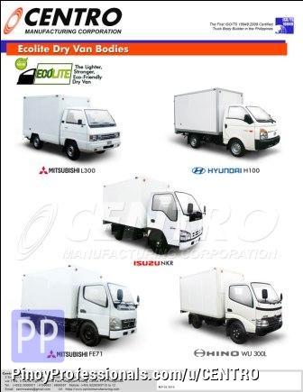 Misc Autos - Ecolite Dry Van Bodies