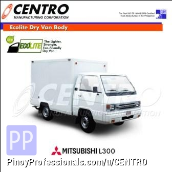 Misc Autos - ECOLITE DRY VAN BODY MOUNTED IN MITSUBISHI L300 (CALL US: 4806557/ 09228393712)