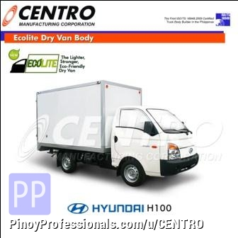 Misc Autos - ECOLITE DRY VAN BODY MOUNTED IN HYUNDAI H100 (CALL US: 4806557/ 09228393712)
