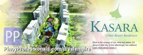 Apartment and Condo for Sale - KASARA URBAN RESORT RESIDENCES.. NO DOWNPAYMENT!  NEAR VALLE VERDE AND C-5/EASTWOOD CITY