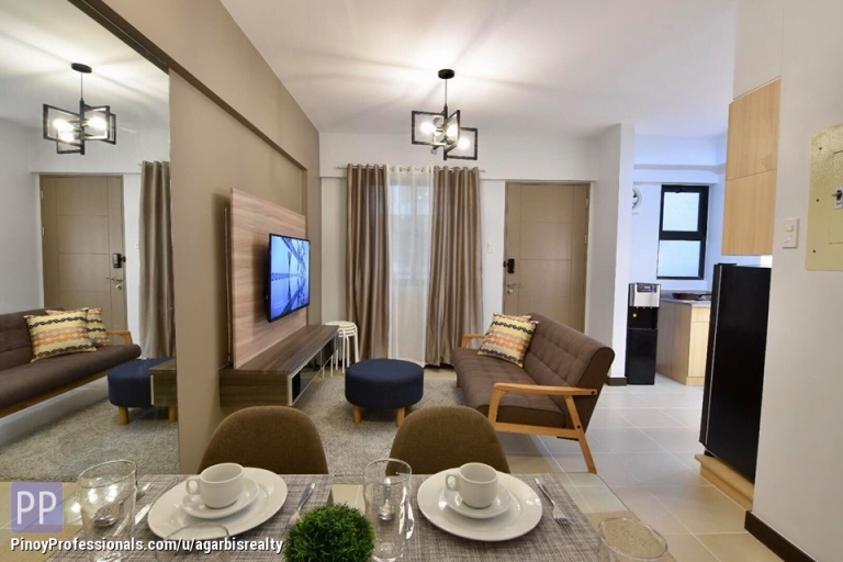 Apartment and Condo for Rent - Fully Furnished 2BR w/ parking Alea Residences 15 mins from airport