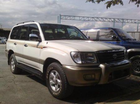 2000 Toyota Land Cruiser VX 4x4 M/T Dsl - Autos/Cars for