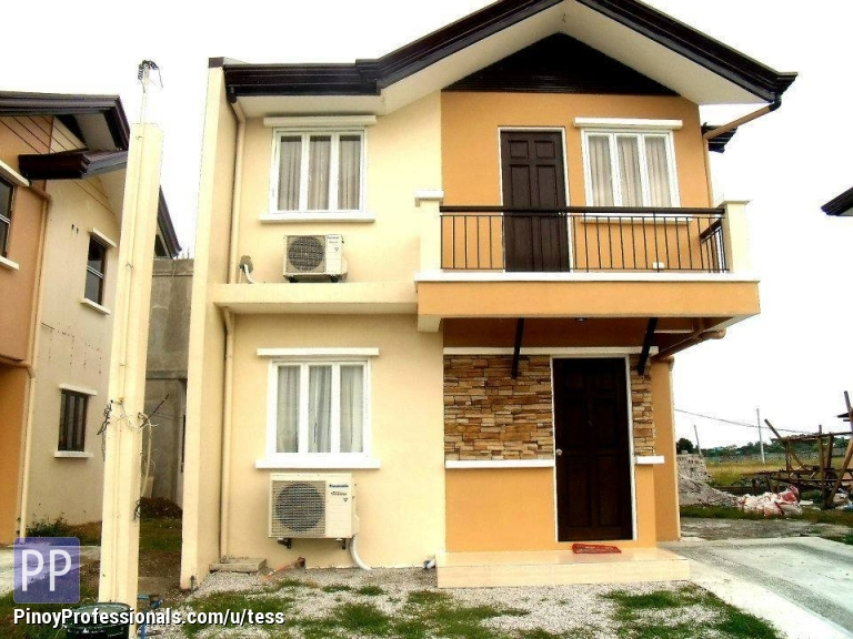 House for Sale - 2-storey RFO cavite house and lot for sale via Cavitex