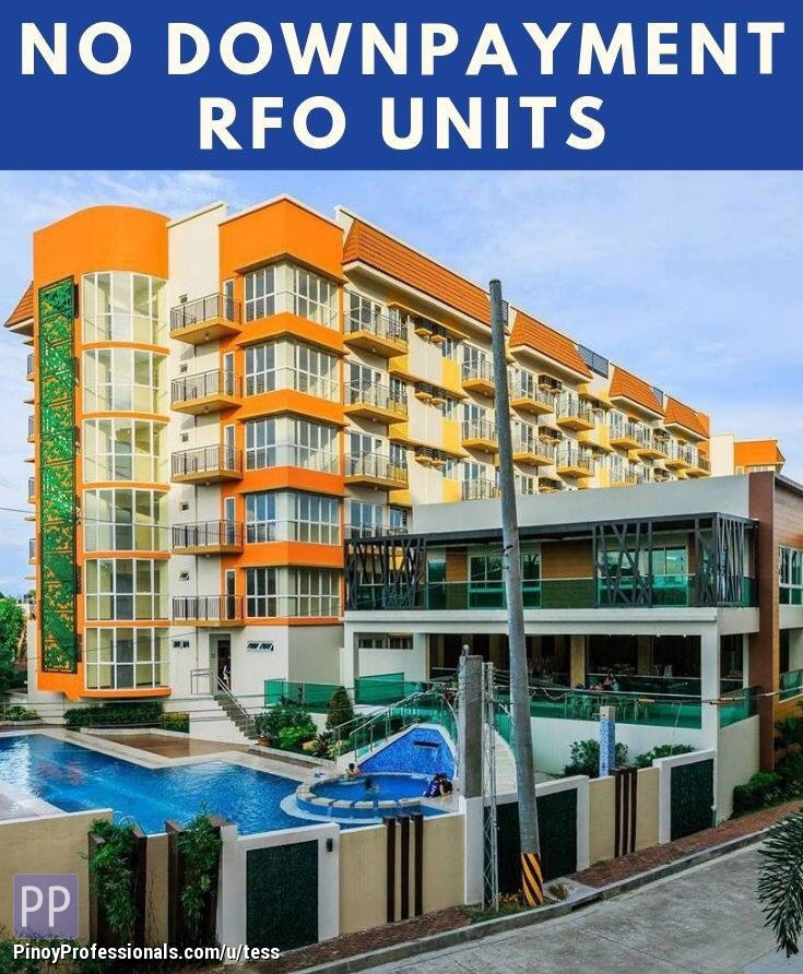 Apartment and Condo for Sale - 3BR NO down RFO Condo unit for sale near airport with FREE Parking