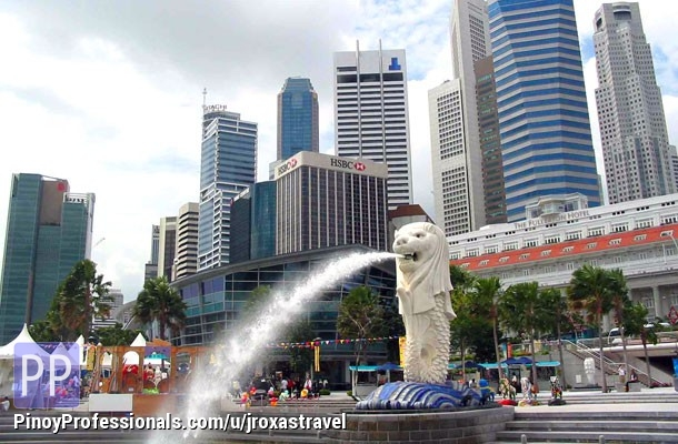 Vacation Packages - SINGAPORE FREE & EASY P13880 per pax