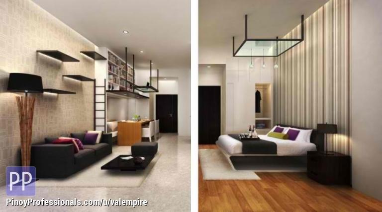 28sqm 1 bedroom resort type condo 1 ride from bgc for 1 bedroom condo design ideas