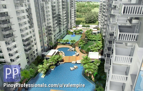 Apartment and Condo for Sale - RESORT-INSPIRED CONDOMINIUM IN C-5 NEAR ORTIGAS CENTRE AND MINUTES AWAY GOING TO BONIFACIO GLOBAL CITY