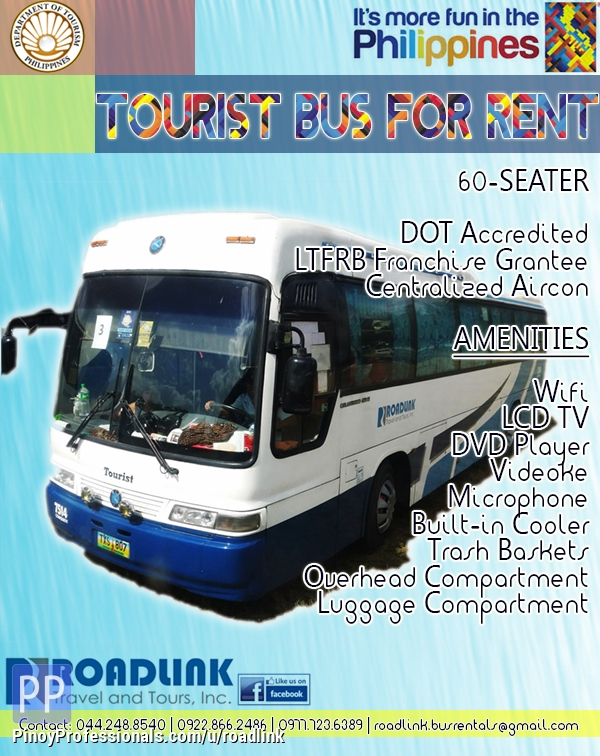 Transportation Services - Transport Service (Tourist Buses and Coaster) - DOT Accredited